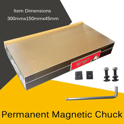 Permanent Magnetic Chuck Powerful Rectangular Chuck For Grinding Machine 300mm • 129.33£