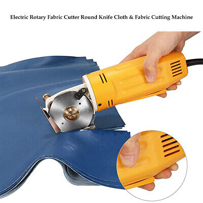 70mm Handheld Mini Electric Fabric Scissors Cloth Cutter For Leather Carpet Wool • 44.83£