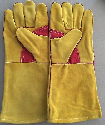 Two Pairs Parweld Panther Welding Gauntlets Size 10 P3825 • 13.99£