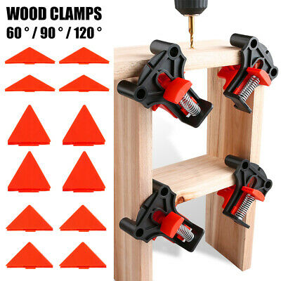 Angle Clamps 60 90 120 Degree Holder Frame Clamp For Wood Working Hand Fixing • 14.99£
