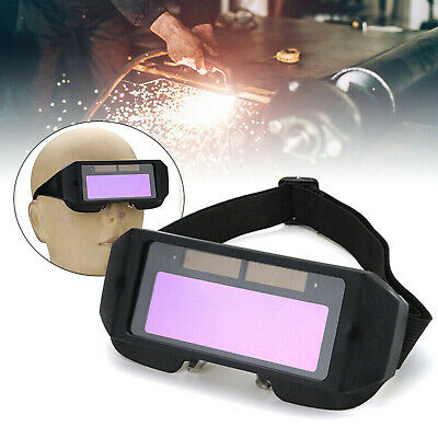 Auto Darkening Lcd Welding Grinding Goggles Solar Glasses Mask Eye Protection Uk • 9.95£