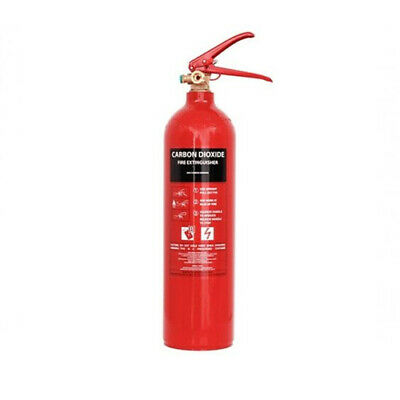 Co2 Fire Extinguisher! 2kg & 5kg! Fish Tanks / Aquariums! FREE NEXT DAY DELIVERY • 20£
