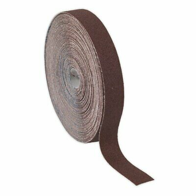 25mm Emery Cloth Roll Brown (Engineers Quality)  80, 120 Grit - Cut To Size • 27.99£
