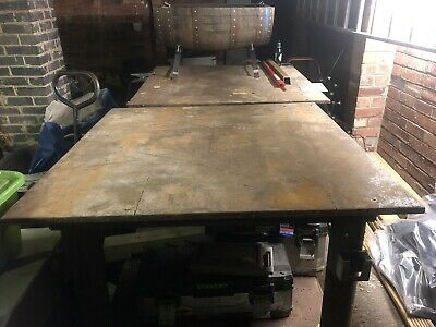 Used Welding/fabrication Table  • 300£