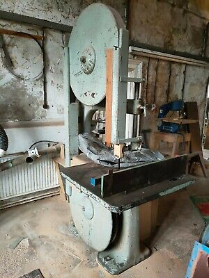 Wadkin Bandsaw Woodworking Machinery , Workshop Large Saw 3 Phase • 1,200£