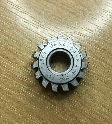 Gear Cutting Hob DP64 PA 20 Bore 8mm, Possibly Unused, Excellent • 25£