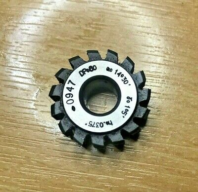 Genuine Mikron Gear Cutting Hob DP60 PA14.5 Bore 8mm, Excellent Condition • 25£