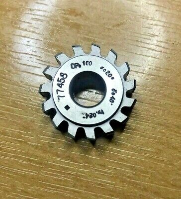 Genuine Mikron Gear Cutting Hob DP100 PA20 Bore 8mm, Excellent Condition • 25£