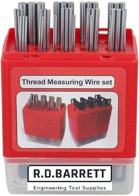Linear Thread Measuring Wires MM & Imperial With Holders • 39.85£