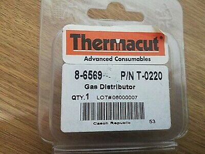 Thermacut Thermal Dynamics PAK44 Plasma Cutter PCH6B T-0220 Gas Distributor • 10£