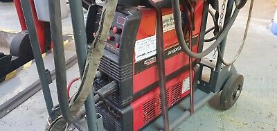 3 Phase Lincoln Invertec V270-T Pulse Tig/Arc Welding 270amp With Water Cooling • 945£