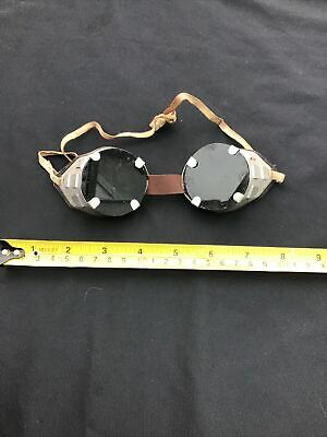 Vintage Old Fashioned Welding Goggles • 19.99£