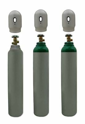One Argon Gas Bottle Cylinder New! Full 1.8m3 8L 180~200 Bar Free UK Delivery! • 119.99£