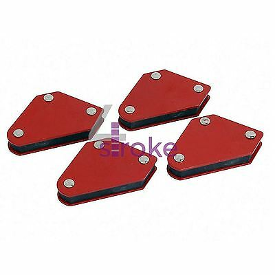 4pc 10lb Welding Magnet Right Angle Square Holder Soldering Durable • 5.62£
