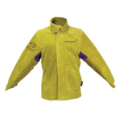 Parweld Panther Leather Welders Welding Jacket, Apron, Sleeves, Spats, Drivers • 41£