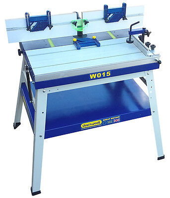 Charnwood W015 Floorstanding Router Table With Sliding Table • 529£