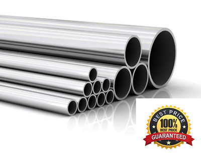 Stainless Steel Round Tube / Pipe - VARIOUS SIZES 4MM - 42MM - 316 GRADE • 38.95£