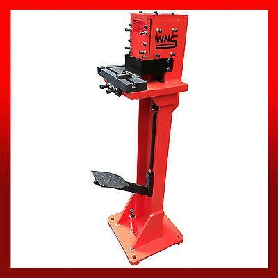 WNS Hand Sheet Metal Foot Operated Treadle Corner Notcher / Right Angle Cutter • 970£
