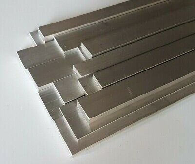 Aluminium Flat Bar Metal Plate, Various Sizes, 50mm Up To 1000mm (1 Metre) Long • 33.50£