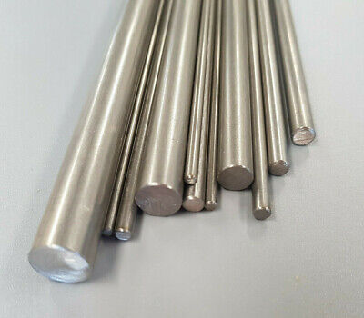 Metal Rod Bar Stainless Steel T303 1.60mm To 12mm Round 50mm To 1000mm (1M) Long • 3.15£