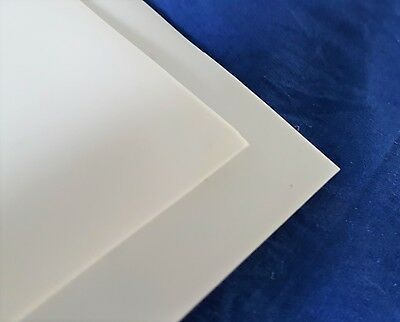 PTFE (Teflon) White Sheet 0.5mm Or 1mm Thick Various Rectangular Strip Sizes • 15.80£