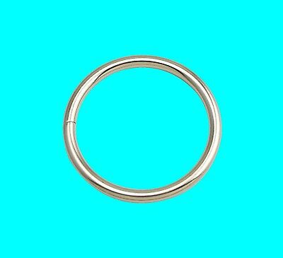 Metal O Rings Collars Buckles Straps For Webbing Strap Tape Craft 25 30 45 58 Mm • 2.99£