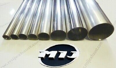 T304 Stainless Steel Exhaust Tubing Pipe High Quality Repair Sections Any Sizes • 24£