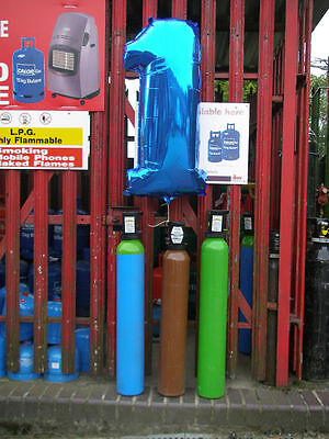 ArgonHP (High Purity)Gas Cylinder, 10litre Size, 200bar Fill*  For Tig Welding.  • 94£