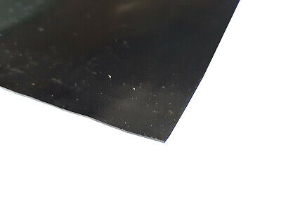 Neoprene General Purpose Rubber Sheet Black Smooth 0.8mm Thick, A2, A1 & A0 • 48.99£