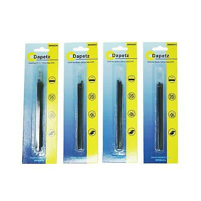 80 SCROLL SAW BLADES 20 EACH 10, 14, 21 And 24 TPI - PIN ENDED - 130MM LONG • 21.55£