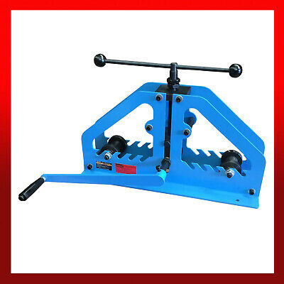 WNS Tube Roller Bender Square Tube Flat Square Round Bar Ring Box Section • 440£