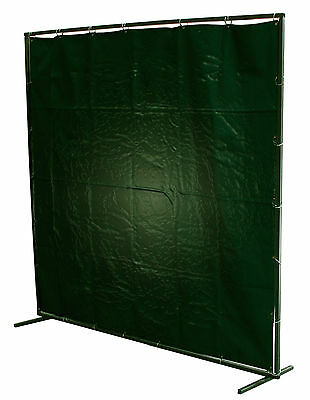 Welding Curtains PVC / Fire Retardant / Canvas + Curtain Rings 4'x6'/6'x6'/8'x6' • 44£