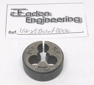 1/4  X 28TPI UNF (Unified National Fine) Button Die, HSS.  • 6.99£