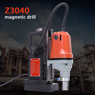 MD40 1100W Electric Magnetic Drill Press 40mm Boring 12,000 N Magnet Force 220V • 197.98£
