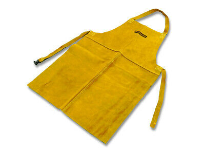 Weldability Premium Gold Leather Welding Safety Apron ESF240100Y • 13.50£
