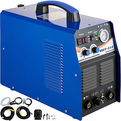 CT312 3-in-1 Welding Machine Digital TIG/MMA/ Plasma Cutter Welder & Accessories • 189.99£