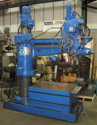 ASQUITH OD1 4'6  RADIAL ARM DRILL Price Inc VAT • 5,100£