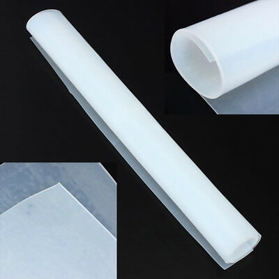 20 X20  500x500mm 1mm Thicknes Silicone Rubber Sheet Plate Resist Mat High Temp • 7.18£
