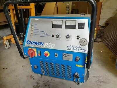 Goodwin P50 Heavy Duty Plasma Cutter - Industrial Plasma Cutter • 3,000£