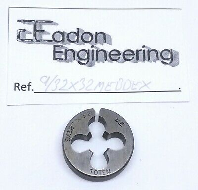 1/8, 5/32, 7/32, 1/4, 9/32, 5/16 & 3/8  ME (Model Engineer) Button Die. • 4.99£
