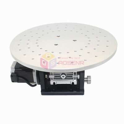Electric 360Degree Rotary Table Workbench Rotating Platform For Marking Machine  • 309.99£
