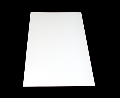 ABS Plastic Board / Sheet  1000x490mm BLACK/WHITE - Thickness 1mm Or 2mm  • 14.90£