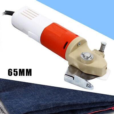 65mm Electric Cloth Cutter Fabric Cloth Cutting Machine Round Scissors Blade  • 45.51£
