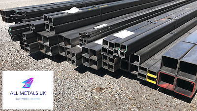 Mild Steel Box Section Shs - Up To 15% Off Multi-buy - Brand New - All Sizes • 13.88£