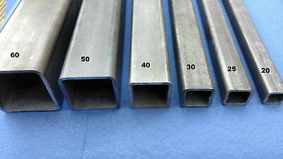 40mm X 40mm X 3mm Mild Steel Box Section 1500mm Long       *FREE 24HR DELIVERY* • 24.99£