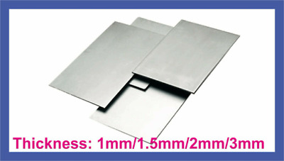 METAL STEEL SHEET 1mm 2mm 3mm Thick UK Guillotine Cut New Metal Plate • 6.90£