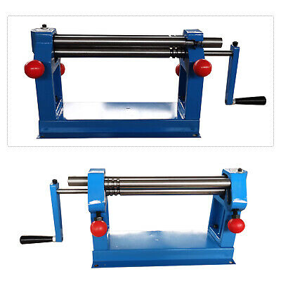 305 Mm Sheet Metal Rollers Slip Roll Machines Plate Rolls Manual Wire 3 Rollers • 95.99£