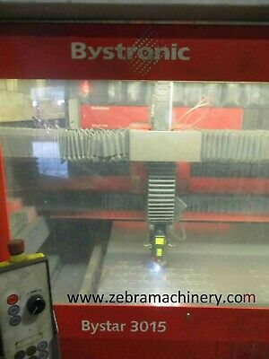 Bystronic Bystar 3015 4kw Cnc Laser Sheet Metal Cutting Machine For Sale • 11,000£