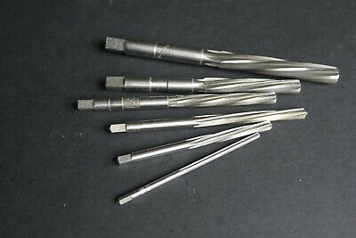 Reamers (6) - Various Imperial Sizes - 3/8  To 3/16  • 8£
