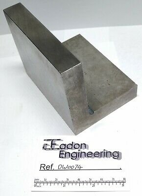 Engineers/Machinists Ground Angle Plate For Grinding. 3 1/2  X 3 1/8  X 4 1/2 . • 19.99£